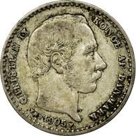 Monnaie, Danemark, Christian IX, 25 Öre, 1905, Copenhagen, TTB, Argent - Denmark