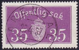 NORWAY - Mi # D17 II Arendal 28.4.37 - Service