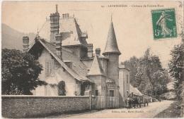 15 - LAVEISSIERE - Château De Fraisse-Haut - Attelage - Other Municipalities