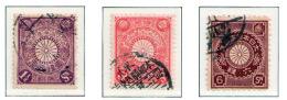 JAPAN 1906/1907 - Set USED - Japan