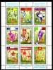 SERBIE   Feuillet  N° 73/80  * *  ( Cote 14e ) Cup 1998 Fussball Soccer Football Coq - World Cup