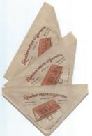 3 Petits Cornets De Papier/ Tabac En Vrac Pour Rouler Ses Cigarettes/Avec RIZ La +/Vers 1920- 1930  CIG26 - Around Cigarettes