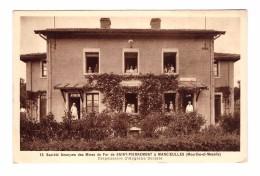 54 Saint Pierremont Mancieulles Société Anonyme Des Mines De Fer Dispensaire Hygiene Sociale Carte Ecrite En 1938 - Frankrijk