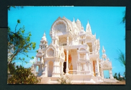 THAILAND  -  Suphanburi  Nikotaram Buddha Viharn  Used Postcard As Scans - Thailand