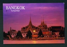 THAILAND  -  Bangkok  The Royal Barge  Used Postcard As Scans - Thailand