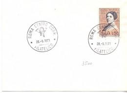 FDC ITALIA - 1971 -  CENTENARIO DELLA NASCITA DI GRAZIA DELEDDA - 6. 1946-.. Repubblica