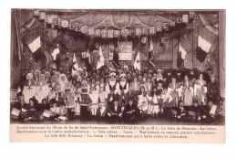 54 Saint Pierremont Mancieulles Société Des Mines De Fer Manifestation Timbre Antituberculeux Salle Reunions Scene - Frankrijk