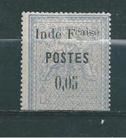 Colonie  Inde Timbre De 1903  N°24a   Neuf * SIGNE BRUN   (cote 370€) - India (1892-1954)