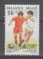 TIMBRE NEUF DE BELGIQUE - COUPE DU MONDE DE FOOTBALL AUX U.S.A. N° Y&T 2538 - World Cup