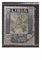 4712-Libia - Colonie Italiane Sassone 32-  Usato - Libya