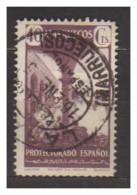 4824-Variety Spanish Morocco 40 C. Yvert 324 – Perforated 11 ¾ X 12 ¼ - Maroc Espagnol