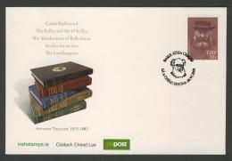 Ireland Irlande Eire 2009 FDC + Mi 1896 - Anthony Trollope (1815-1882) Victorian Writer, Surveyor's Clerk Of Irish Post - Schrijvers