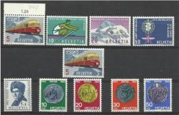 1962 Svizzera Switzerland PROPAGANDA + PRO PATRIA, 2 Serie (Yvert 689/97) MNH**+ N°689 Gratis - Nuovi