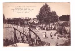 54 Saint Pierremont Mancieulles Mine Mineur Mines De Fer Le Parc Vu De La Butte Avec La Piece D' Eau - Frankrijk