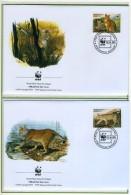 2002 - TAJIKISTAN - Mi. Nr. 208/211 - OFFICIAL FDC - (CAT 2016.1 WWF) - Tagikistan