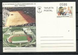 "Guinea. 1996_E.P. Nº 2.  XVII Exposición Filatélica Iberoamericana ""Maia ""Portugal"" - Guinea Ecuatorial"