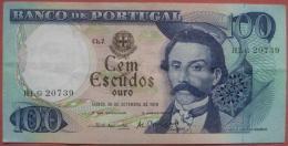 100 Escudos 1978 (WPM 169b) - Portugal