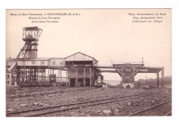 54 Saint Pierremont Mancieulles Mine Mineur Mines De Fer Puits Accumulateurs Stock - Frankrijk
