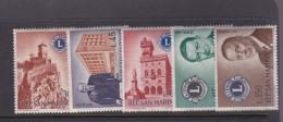 San Marino 1960 Lions Club Set MNH - Neufs