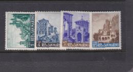 San Marino 1961 Views MNH - Neufs
