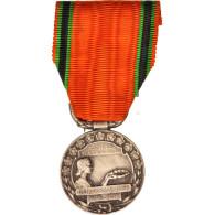 France, Société Nationale D'Encouragement Au Bien, Medal - Army & War