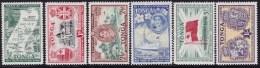 Tonga 1951 Treaty Sc 94-99 Mint Never Hinged - Tonga (1970-...)