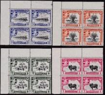 Pakistan Bahawalpur 1949 Sc 22-25 Mint Never Hinged