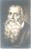 LUCAS KRANACH CELEBRE PINTOR ALEMAN CRANACH CPA 1900s DOS DIVISE UNCIRCULATED RARE