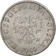 Pologne, Grosz, 1949, Warsaw, TTB+, Aluminum, KM:39 - Pologne