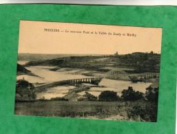 Tréguier (Trédarzec) Le Nouveau Pont Et La Vallée Du Jaudy Et Minihy 2 Scans - Tréguier