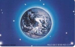 TARJETA DE ALEMANIA DE EL GLOBO TERRAQUEO DE TIRADA 3000 (TIERRA) - Astronomy
