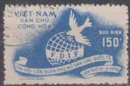 NORTH VIETNAM - 1958 Women's Conference. Scott 71. Used - Vietnam