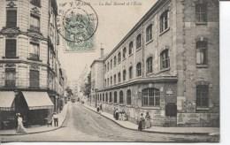 CPA - PARIS - LA RUE BLOMET ET L ECOLE - Distretto: 14