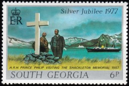SOUTH GEORGIA - Scott #48 Prince Philip / Mint NH Stamp - Great Britain (former Colonies & Protectorates)