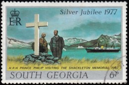 SOUTH GEORGIA - Scott #48 Prince Philip / Used Stamp - Great Britain (former Colonies & Protectorates)