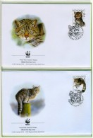 2003 - SLOVACCHIA  -  Mi. Nr. 458/461 - OFFICIAL FDC - (CAT 2016.1 WWF) - Slovacchia