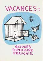 Jean Effel        H58         Vacances.Secours Populaire - Effel