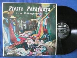 "Los Paraguayos""33t Vinyle""Fiesta Paraguaya"" - Wereldmuziek"