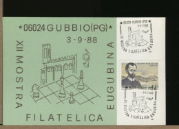ITALIA - GUBBIO - SCACCHI - Scacchi