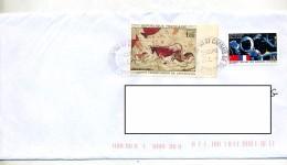 Lettre Cachet Caprais Sur Lascaux Cnrs - Storia Postale