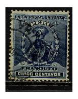 Pérou 1896-99 Y&T 110 ° - Pérou