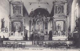 Az - Cpa LOCMINE - Intérieur De L'Eglise - Locmine