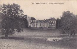 Az - Cpa Guer - Parc Et Château De Coëtbo - Guer Coetquidan