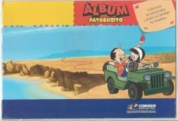 ARGENTINA 2004 COMICS - Original POST OFFICE BOOK +  MINT (NH) SOUVENIR SHEET - # B 161 - Blokken & Velletjes