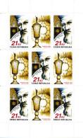 """Tchéquie 2009  ( Bloc 5 T. à 21 Kc. """" Rabi Jehuda Low """"  )   Luxe ** - Repubblica Ceca"""