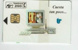 Spain Phonecard  P- 019  Trophy  Mint 2000 Ex - Spain