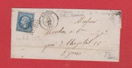 Plis / De Mâcon /  Pour Lyon / - Poststempel (Briefe)