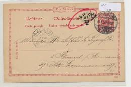 DR.-Ganzsache Stempel Beleg   (be5537 ) Siehe Scan - Briefe U. Dokumente