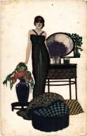 Art Nouveau - Belle Femme - Objets De Garçonnière Par RIBAS - Fashion