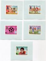 MAURITANIE  N°401/403 + PA 188/189 EN FEUILLETS INDIVIDUELS VAINQUEURS DE LA COUPE DU MONDE DE FOOTBALL - Mauritanie (1960-...)